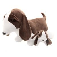 Beagle com Filhote Pelúcia