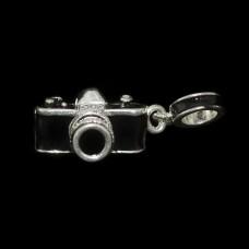 Berloque Câmera Fotográfica Esmaltada