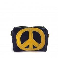 Necessaire Azul Símbolo da Paz