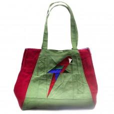 Bolsa Alice Arara Vermelha