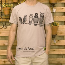 Camiseta Pet Corujas do Brasil