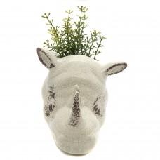 Cachepô Cabeça Rinoceronte