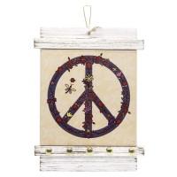 Porta Chaves Símbolo da Paz