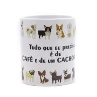 Caneca Café e Cachorro