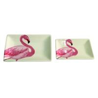 Petisqueira Flamingo Retangular