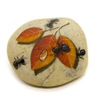 Pedra Pintada Formiga e Folha Seca II