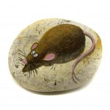 Pedra Pintada Rato Marrom