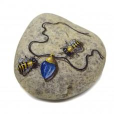 Pedra Pintada Abelha e Joia