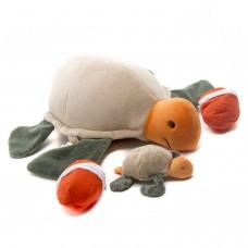 Tartaruga com Ovos e Filhotes Pelúcia