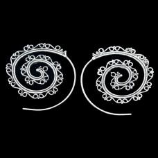 Brinco Argola Bali Espiral M3
