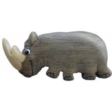 Imã Madeira Rinoceronte