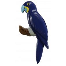 Imã Madeira Arara Azul