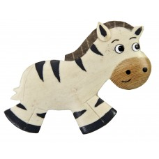 Imã Madeira Zebra
