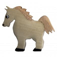 Imã Madeira Cavalo Branco