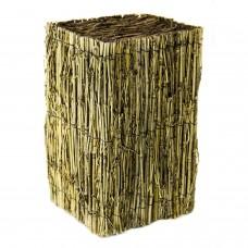Luminária Retangular Bambu