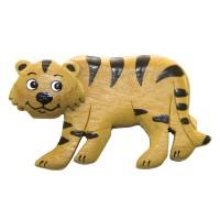 Imã Madeira Tigre