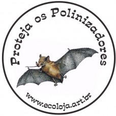 Botton Morcego Polinizador