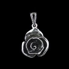 Pingente Rosa Espiral